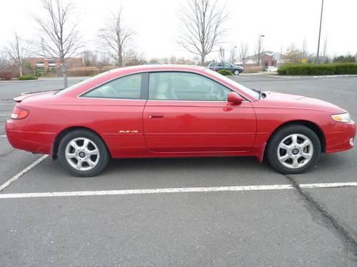 2000 toyota solara coupe sle v6 110437 miles price. Black Bedroom Furniture Sets. Home Design Ideas