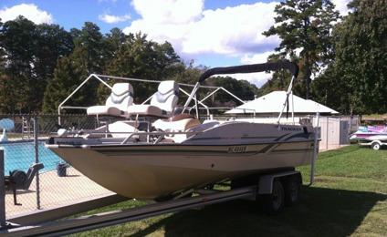 2000 Tracker Party Deck 21 For Sale In Dallas Texas