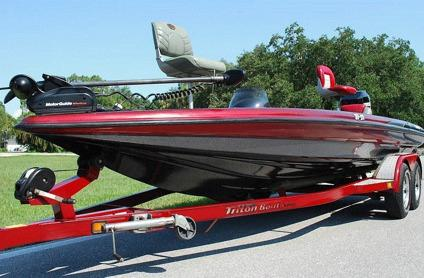 2000 triton tr 21 bass boat mercury 225 hp ss prop for