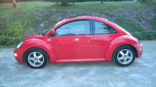 2000 Volkswagen New Beetle, Red, Leather, 1.8L Turbo for ...
