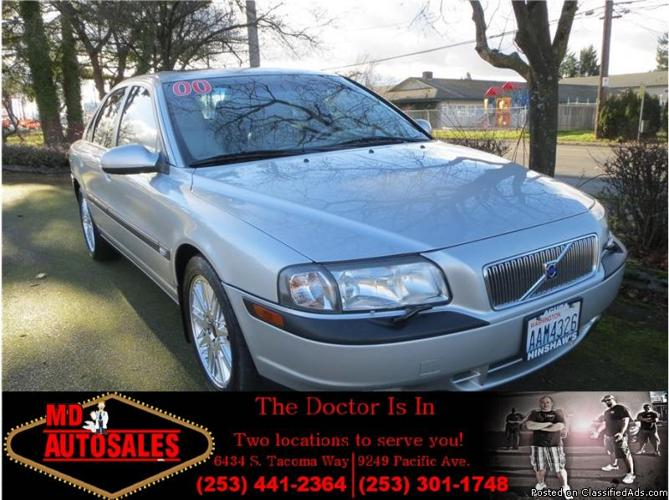 2000 Volvo S80 T6 Sedan 4D-Turbo-MD Auto Sales