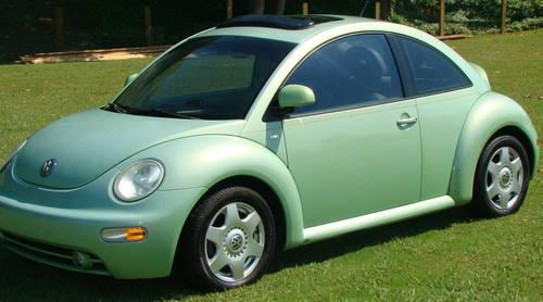 vw beetle lime green automatic  sale  jackson tennessee classified