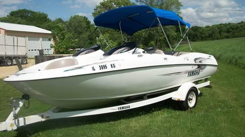 Ls Yamaha Twin Jet Boat