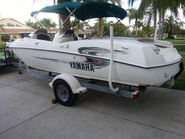 2000 yamaha ls2000 jet boat with twin engines and trailer for Yamaha jet boat for sale florida