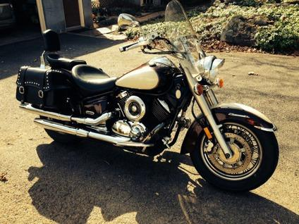 2000 Yamaha V Star'' Clear