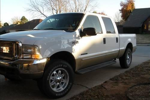 2000 ford f250 lariat crew cab 7 3l diesel super duty 4 wheel drive for sale in yukon oklahoma. Black Bedroom Furniture Sets. Home Design Ideas