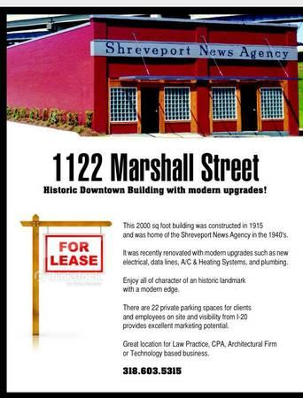 2000ft² - Downtown Office Building for Lease - Free