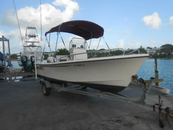 2001 19' Maycraft Center Console - $8495