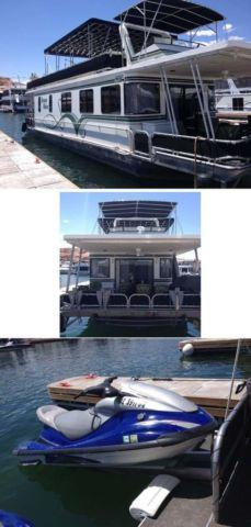 2001 55' Lakeview M55 Houseboat