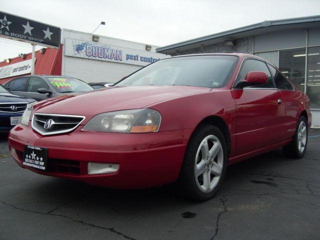 2001 acura 3 2cl type s red coupe runs smooth reliable. Black Bedroom Furniture Sets. Home Design Ideas