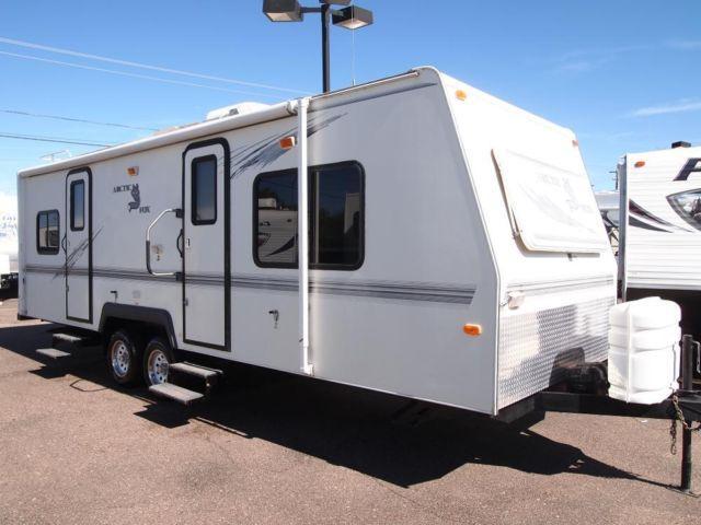 2001 arctic fox 26 j all weather 4 season rated travel trailer sharp for sale in mesa arizona. Black Bedroom Furniture Sets. Home Design Ideas
