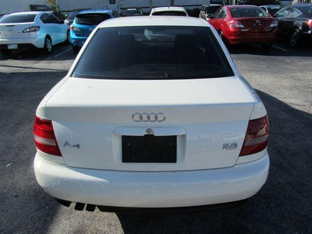 2001 audi a4 2 8 quattro for sale in fort lauderdale florida classified. Black Bedroom Furniture Sets. Home Design Ideas