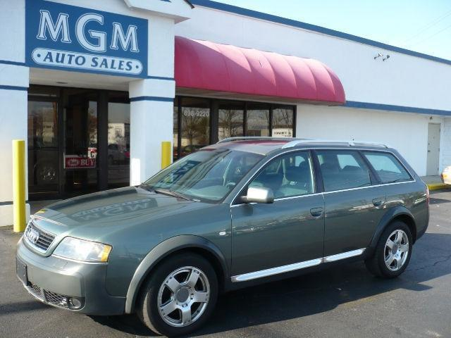2001 audi allroad for sale in mason ohio classified. Black Bedroom Furniture Sets. Home Design Ideas