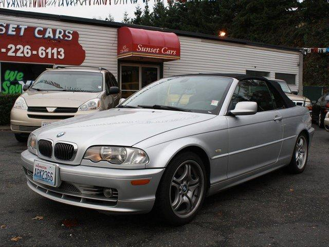 2001 bmw 3 series 330ci 2dr convertible for sale in everett washington classified. Black Bedroom Furniture Sets. Home Design Ideas