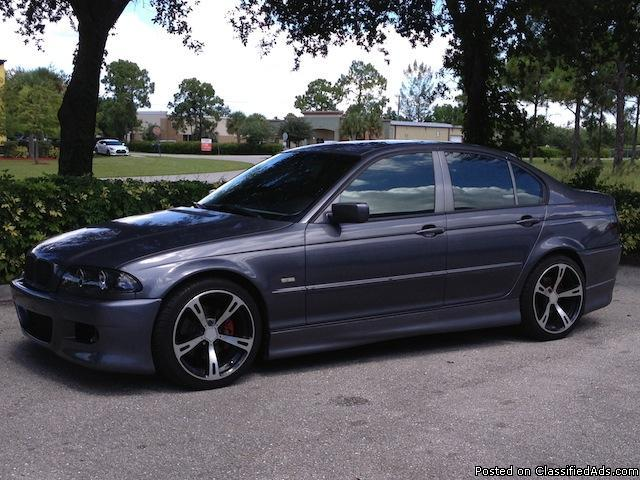 2001 bmw 325i sedan ac schnitzer upgrades for sale in fort myers florida classified. Black Bedroom Furniture Sets. Home Design Ideas