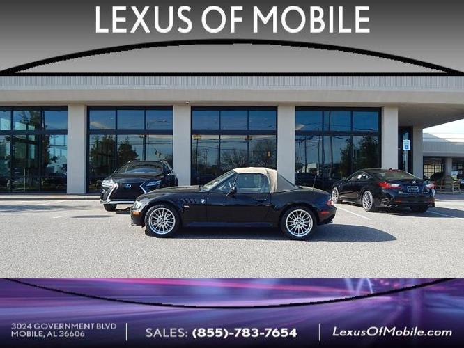 2001 BMW Z3 3.0i 3.0i 2dr Roadster