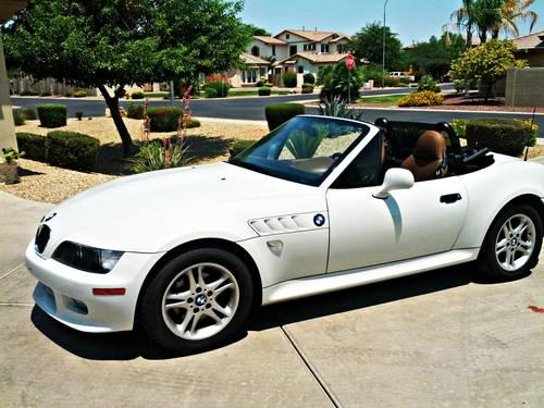 2001 Bmw Z3 Automatic Only 92k Miles Silver New Wheels