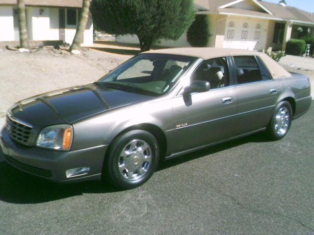 2001 cadillac deville 4 door sedan 61k northstar v8 for sale in sun city arizona classified. Black Bedroom Furniture Sets. Home Design Ideas