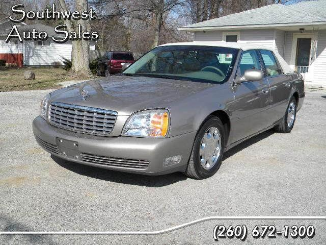 2001 cadillac deville for sale in roanoke indiana classified. Black Bedroom Furniture Sets. Home Design Ideas