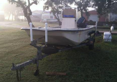 2001 Carolina Skiff Semi V-Series V1765 in Rockport, TX