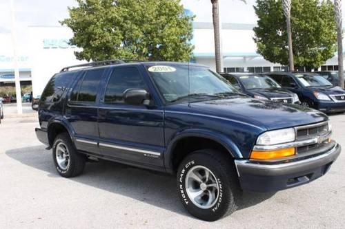 2001 chevrolet blazer sport utility ls for sale in pinellas park florida classified. Black Bedroom Furniture Sets. Home Design Ideas