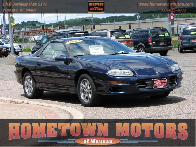 2001 Chevrolet Camaro Z28 For Sale In Wausau Wisconsin