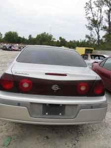 2001 Chevrolet Impala used auto parts Savannah