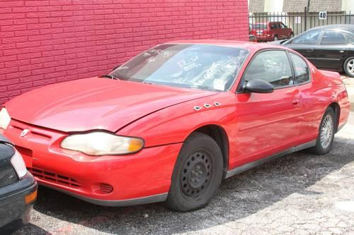 2001 chevrolet monte carlo all parts for sale for sale. Black Bedroom Furniture Sets. Home Design Ideas