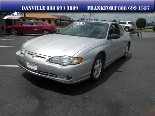 2001 Chevrolet Monte Carlo Coupe SS for Sale in Danville ...