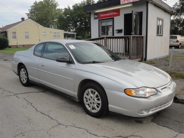 2001 chevrolet monte carlo ls for sale in uniontown. Black Bedroom Furniture Sets. Home Design Ideas
