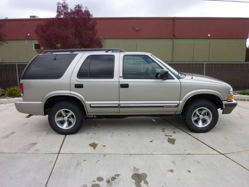 2001 chevrolet s 10 blazer 2 wheel drive only 47 790 actual miles for sale in albany oregon. Black Bedroom Furniture Sets. Home Design Ideas