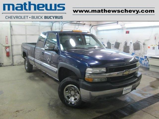 2001 CHEVROLET Silverado 2500HD 4dr LS 4WD Extended Cab SB HD for Sale in Bucyrus, Ohio ...