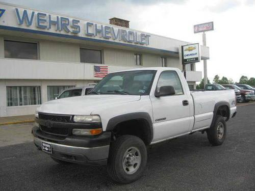 2001 chevrolet silverado 2500hd pickup wt for sale in bangor wisconsin classified. Black Bedroom Furniture Sets. Home Design Ideas