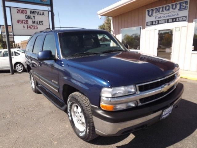 2001 chevrolet tahoe lt for sale in moriarty new mexico classified. Black Bedroom Furniture Sets. Home Design Ideas