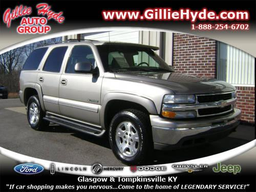 2001 chevrolet tahoe suv 4x4 lt 4x4 for sale in dry fork kentucky classified. Black Bedroom Furniture Sets. Home Design Ideas