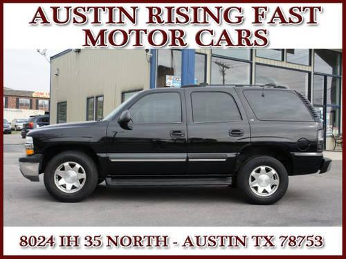 2001 chevrolet tahoe suv ls for sale in austin texas