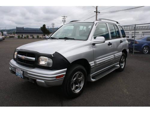 2001 Chevrolet Tracker Suv 4x4 Lt For Sale In Longview