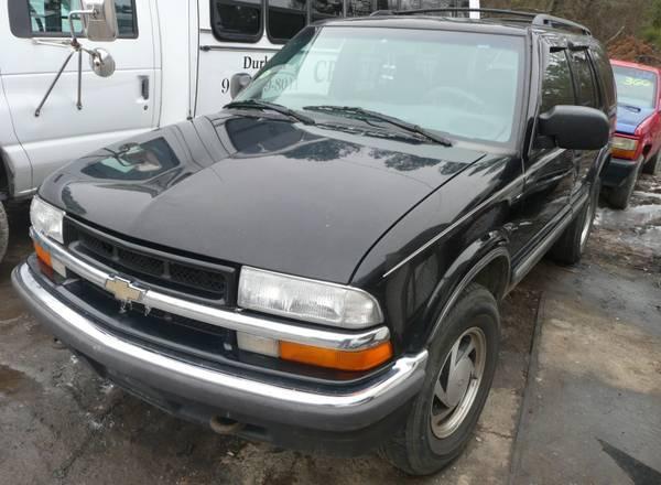 2001 Chevy Blazer Parts