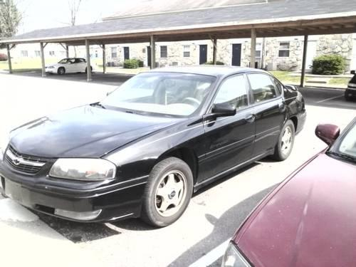 2001 chevy impala ls v6 black for sale in fort wayne for 2001 chevy impala window regulator