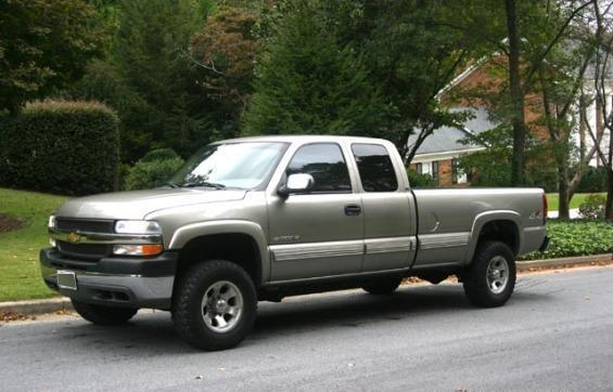 2001 Chevy Silverado 4x4 2500 Hd Ls 4 Door Series