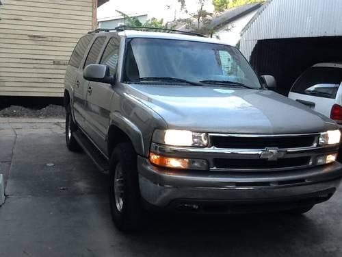 2001 chevy suburban 2500 for sale in metairie louisiana. Black Bedroom Furniture Sets. Home Design Ideas