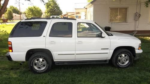 2001 Chevy Tahoe LT V8 White 112k for Sale in Ogden, Utah ...