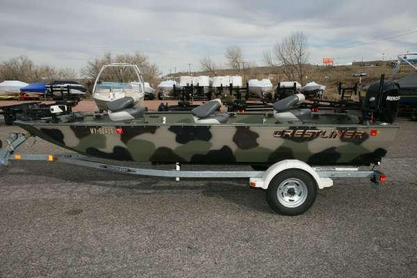 2001 Crestliner All-Welded 1754 MV