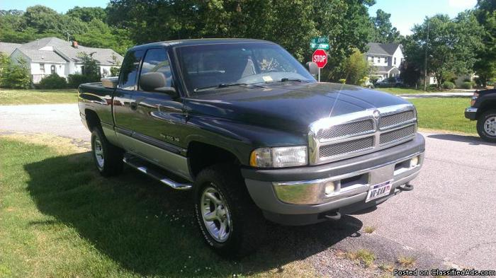 2001 Dodge Ram 1500 Truck 4x4 Quad Cab Off Road Laramie