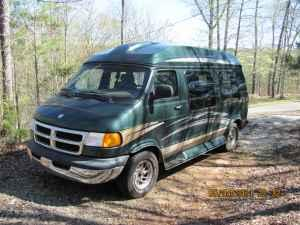2001 Dodge Ram High Top Conversion Van - $7600