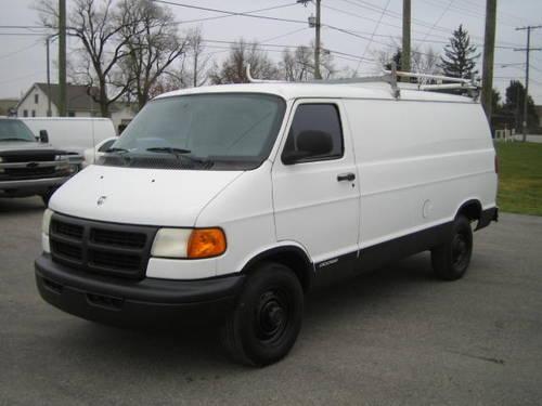 2001 Dodge Ram Van 2500 Commerical Cargo