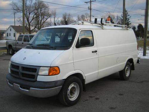2001 dodge ram van 3500 cargo van extras lower miles. Black Bedroom Furniture Sets. Home Design Ideas