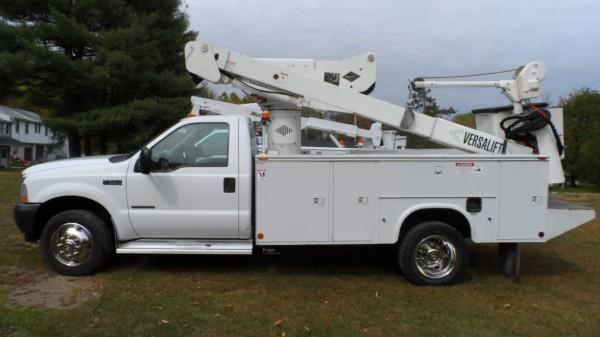 2001 F-550XL SUPER DUTY POWERSTROKE DIESEL V8 4WD