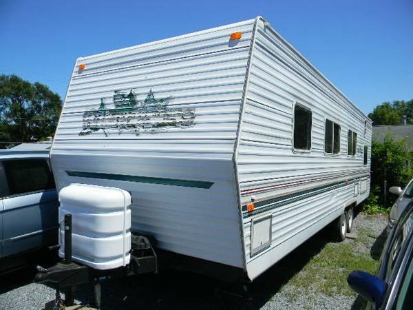 2001 fleetwood wilderness travel trailer pull behind for sale in martinsburg west. Black Bedroom Furniture Sets. Home Design Ideas