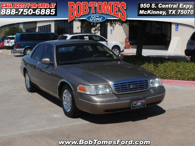 2001 Ford Crown Victoria Lx For Sale In Mckinney Texas